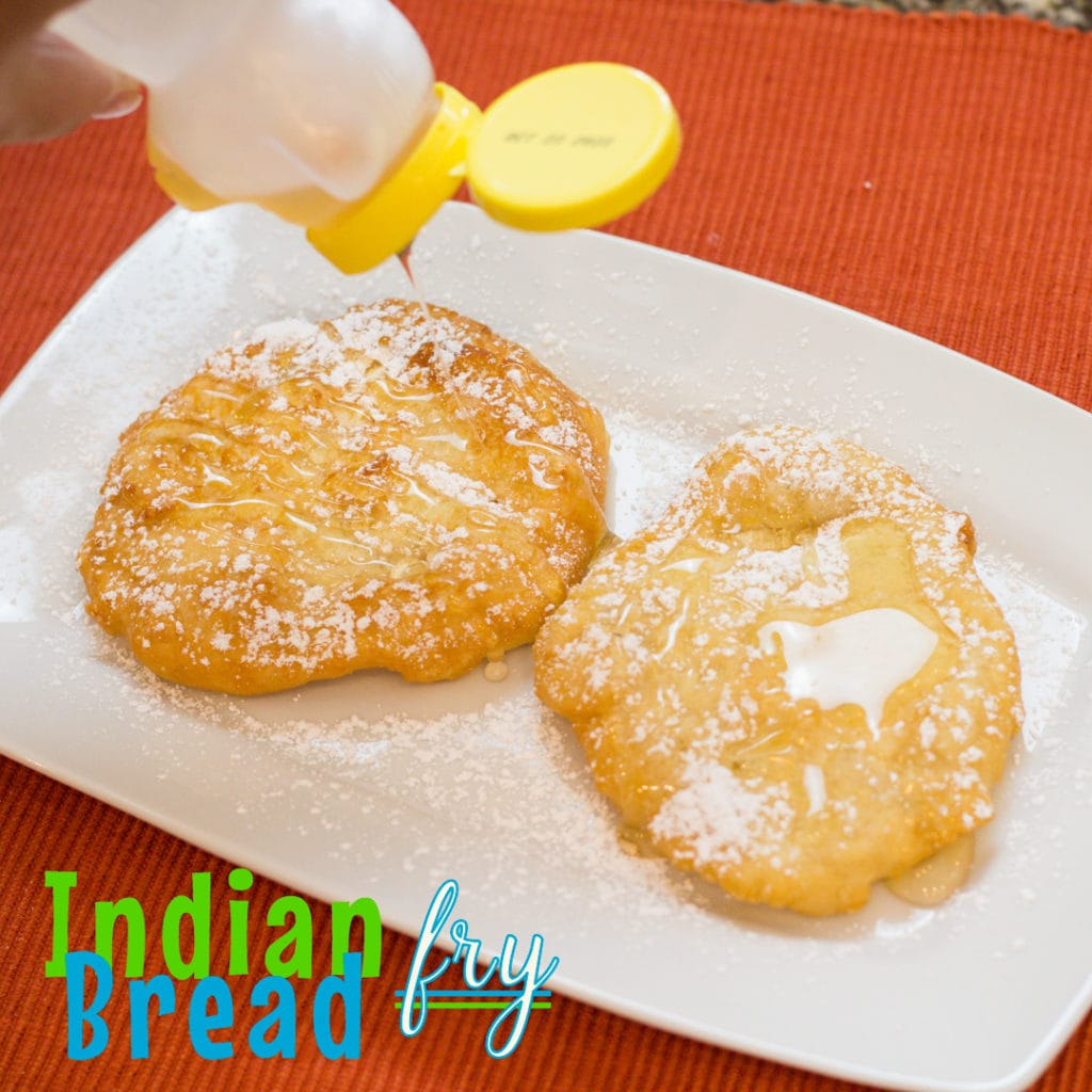 Indian fry Bread, a delicious crispy fried bread on the outside with a soft and chewy inside