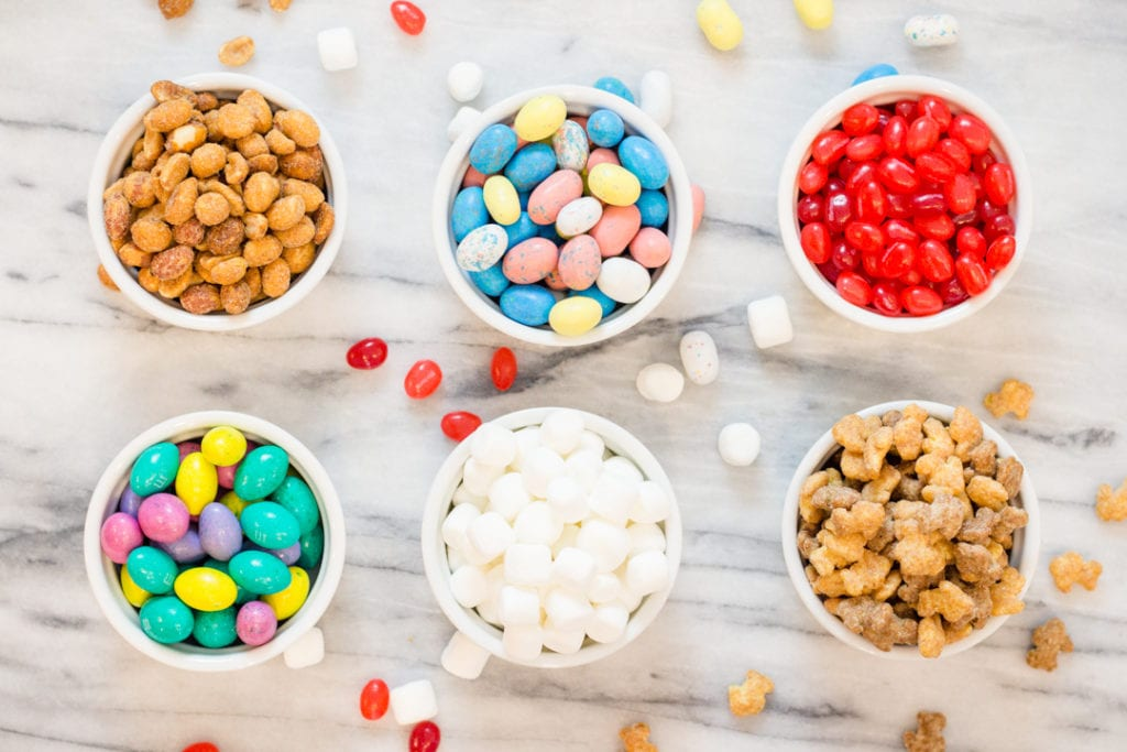 Easter Trail Mix Ingredients