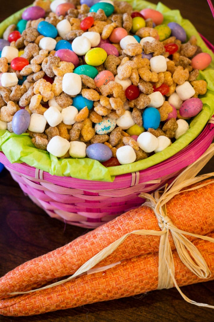 Trail Mix in basket