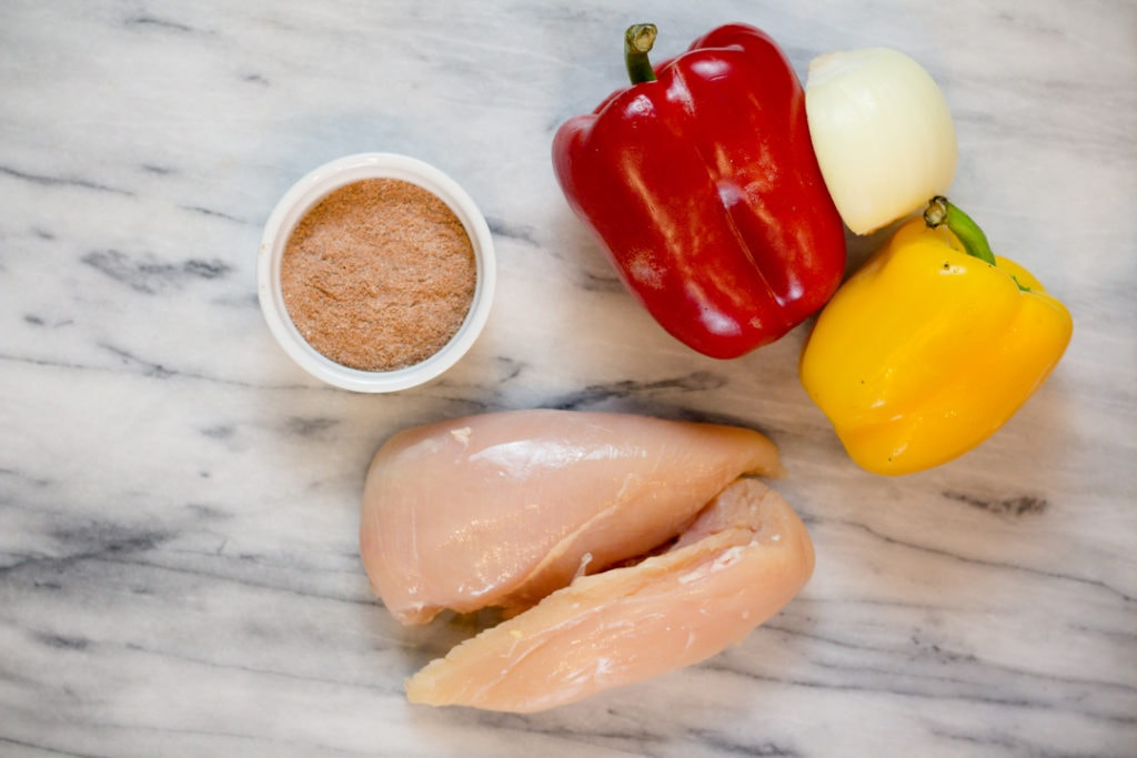 Easy Chicken Fajitas Ingredients