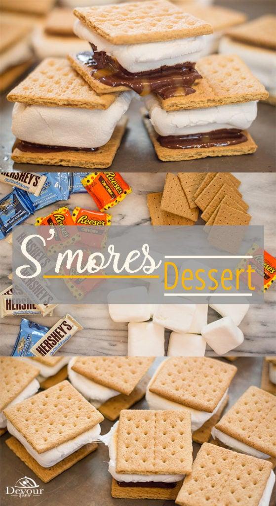 Oven Baked Smores Dessert
