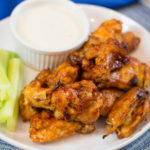 Crispy BBQ Chicken Wings