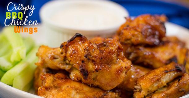 Honey BBQ Chicken Wings