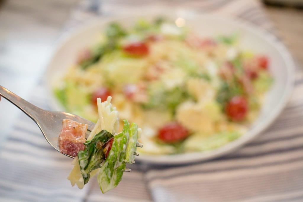 Bacon, Lettuce, Tomato Potluck Salad