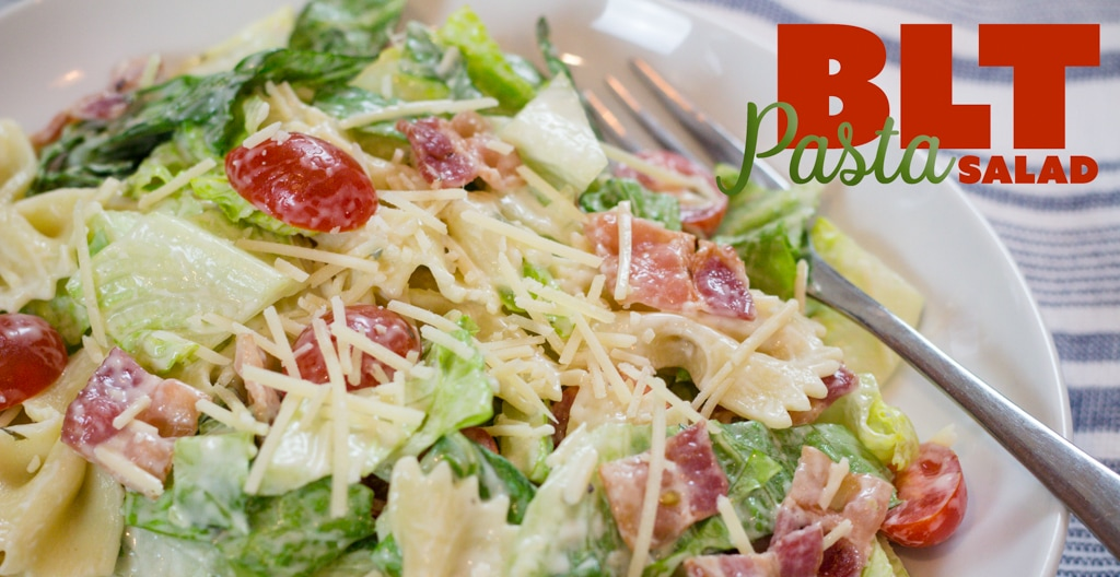 BLT Pasta Salad Recipe that your neighborhood will Buzz About!