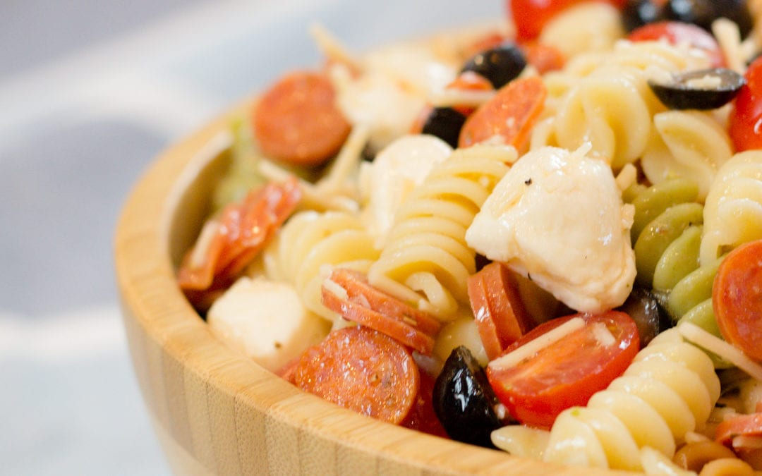 Amazing Cold Pepperoni Pasta Salad Recipe
