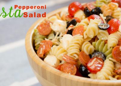 Amazing Cold Pepperoni Pasta Salad Recipe