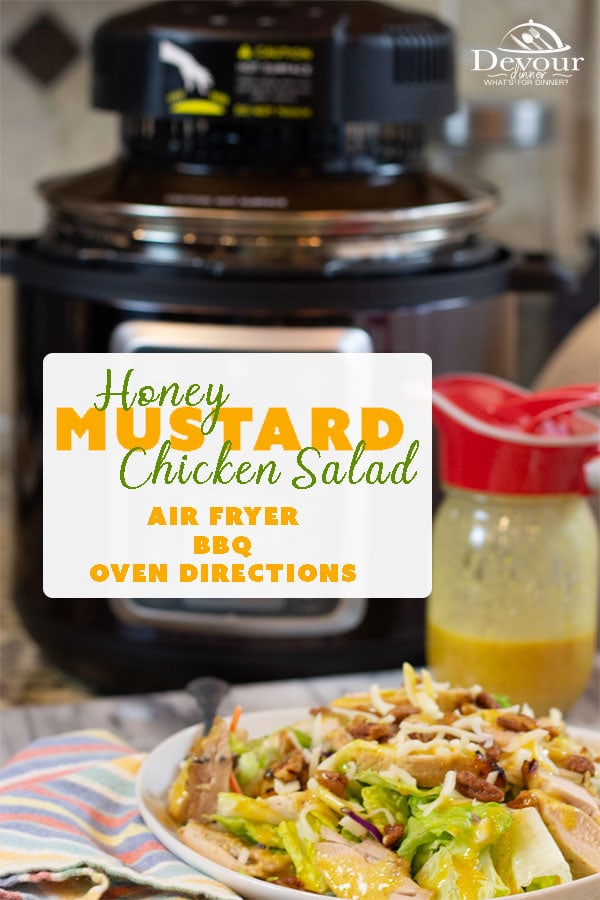 Honey Mustard Dressing is a sweet and tangy dressing that is delicious and will keep you licking your lips. You can easily whip up this dressing and marinade your chicken or fish or use for your favorite salad. We promise it's yummy! #devourdinner #Salad #saladdressing #easyrecipe #easymarinade #summersalad #Yum #yummy #recipe #recipes #Food #Foodie #condiment #honey #Mustard #Honeymustard #saladdressingrecipe