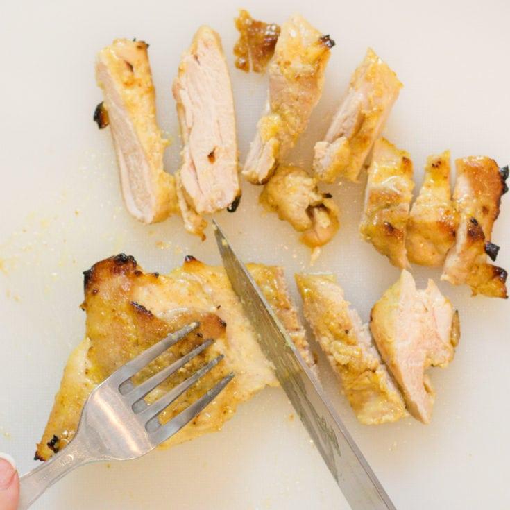Honey Mustard Chicken Thighs