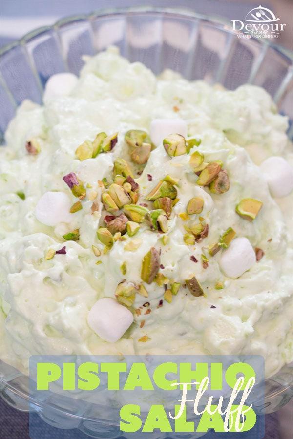 Pistachio Salad ~ Green Fluff Salad