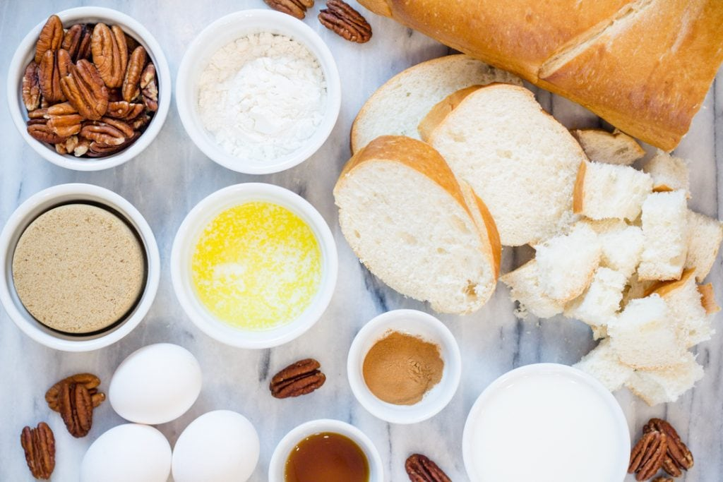 Instant Pot Breakfast French Toast Ingredients