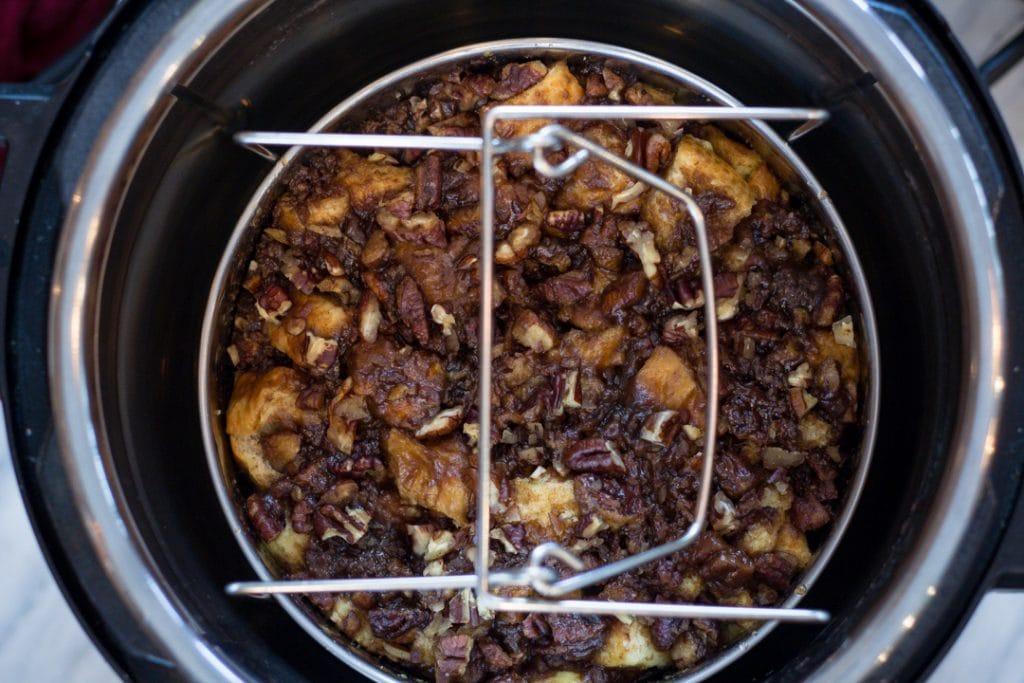 Pot on Trivet in Instant Pot