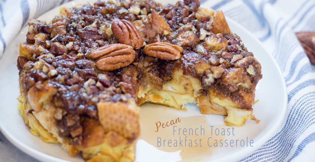 The Best Instant Pot Breakfast Pecan French Toast