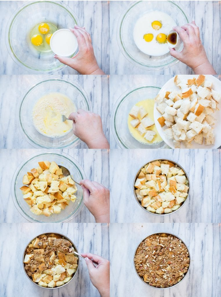 Step by Step French Toast Casserole
