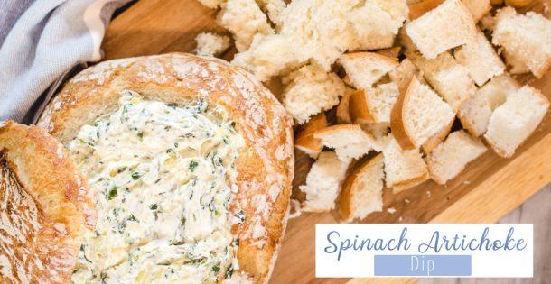 Hot Spinach Artichoke Dip Recipe