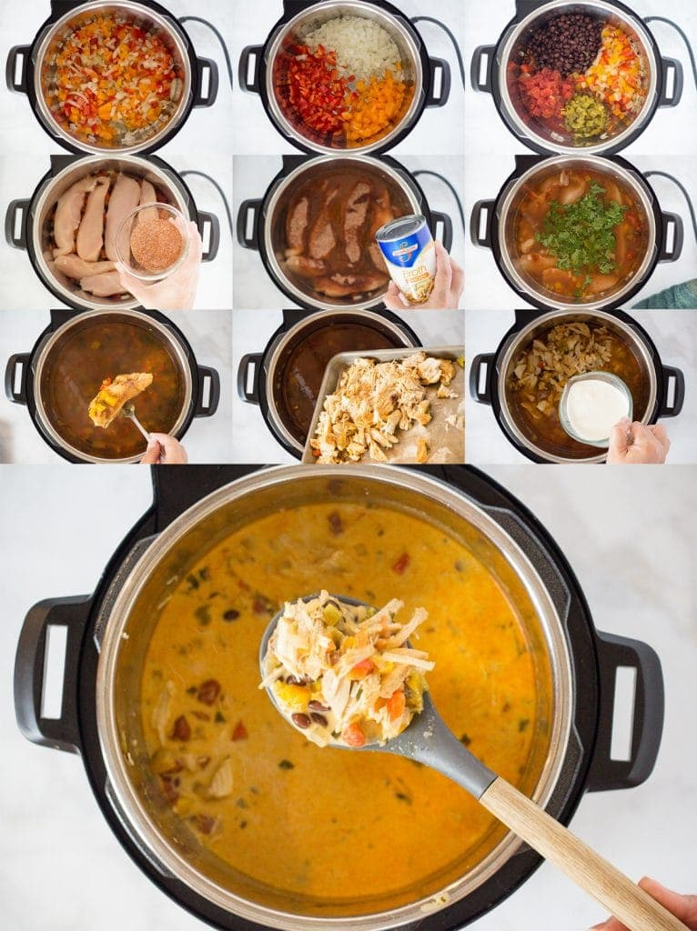 Chicken Taco Soup Instant Pot