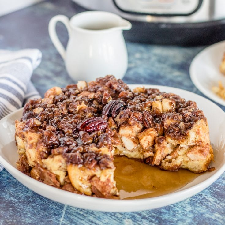 Apple Pecan French Toast