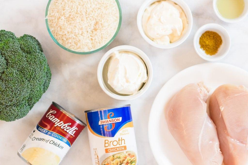 Chicken Devan Recipe Ingredients