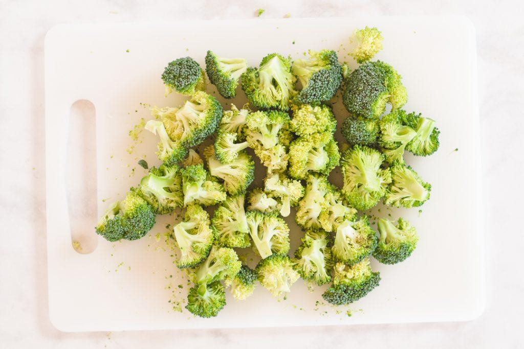 Chopped Broccoli for Instant Pot Chicken Divan
