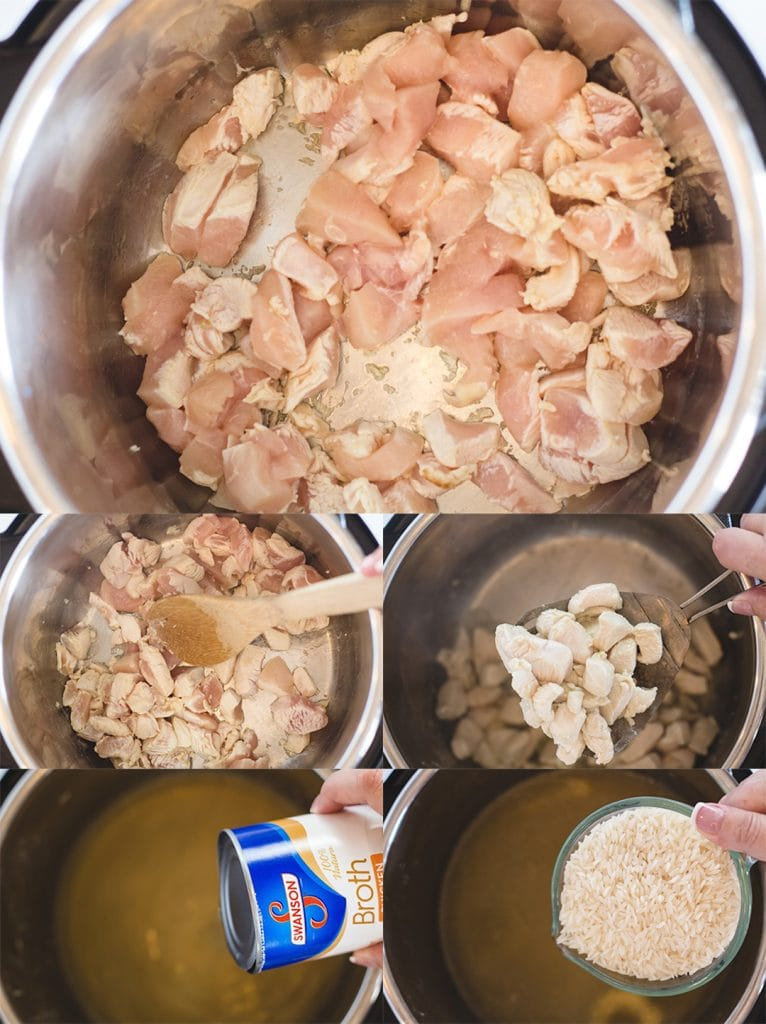 Chicken Divan Cooking chicken