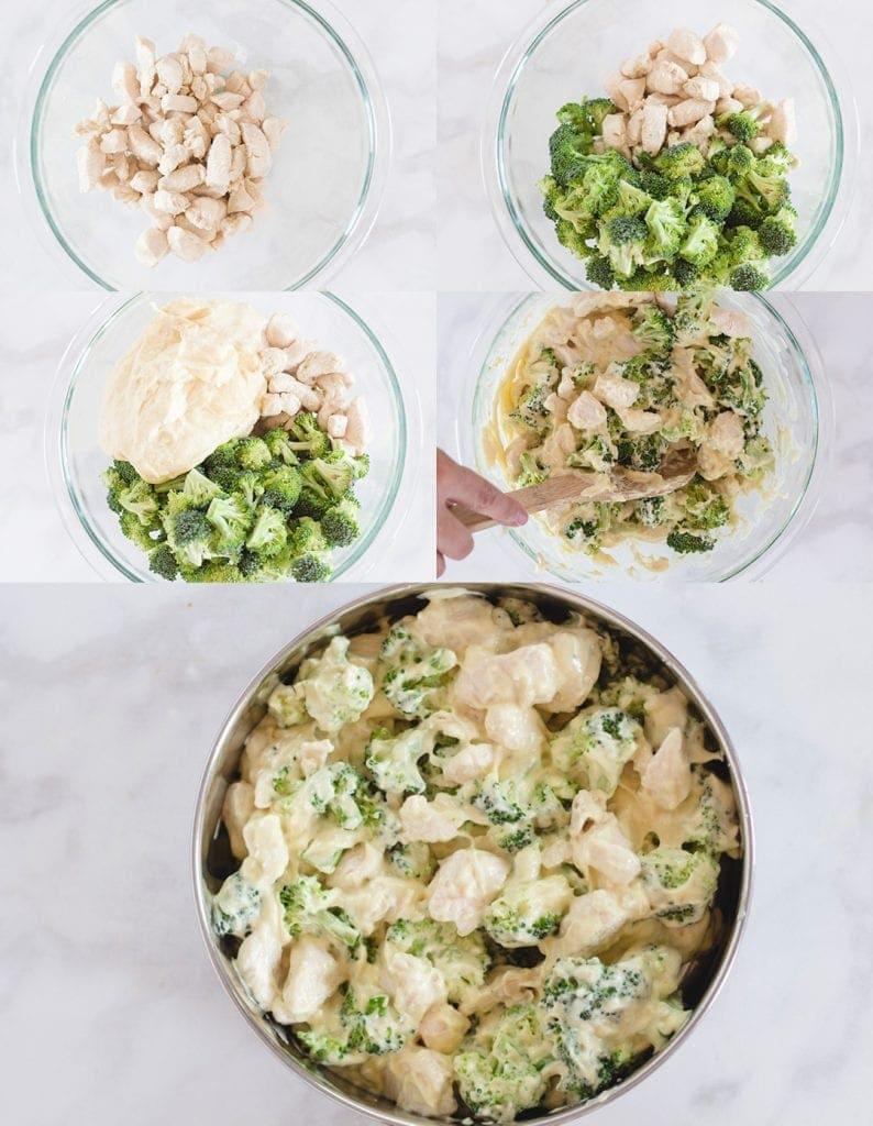 Chicken Divan Recipe Steps
