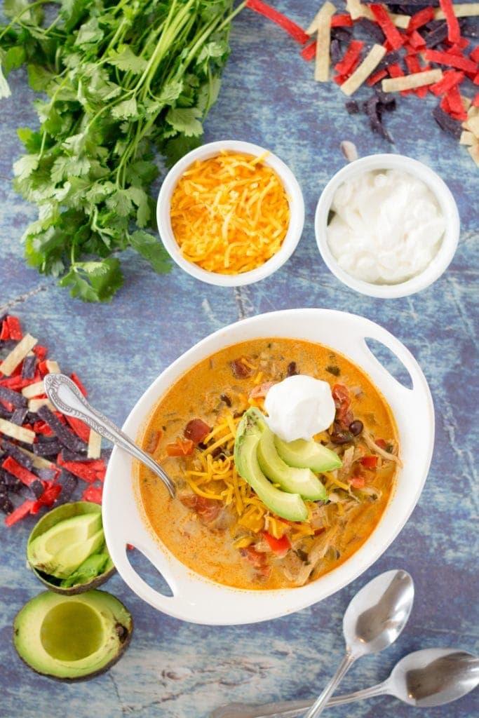 Chicken Taco Soup Recipe