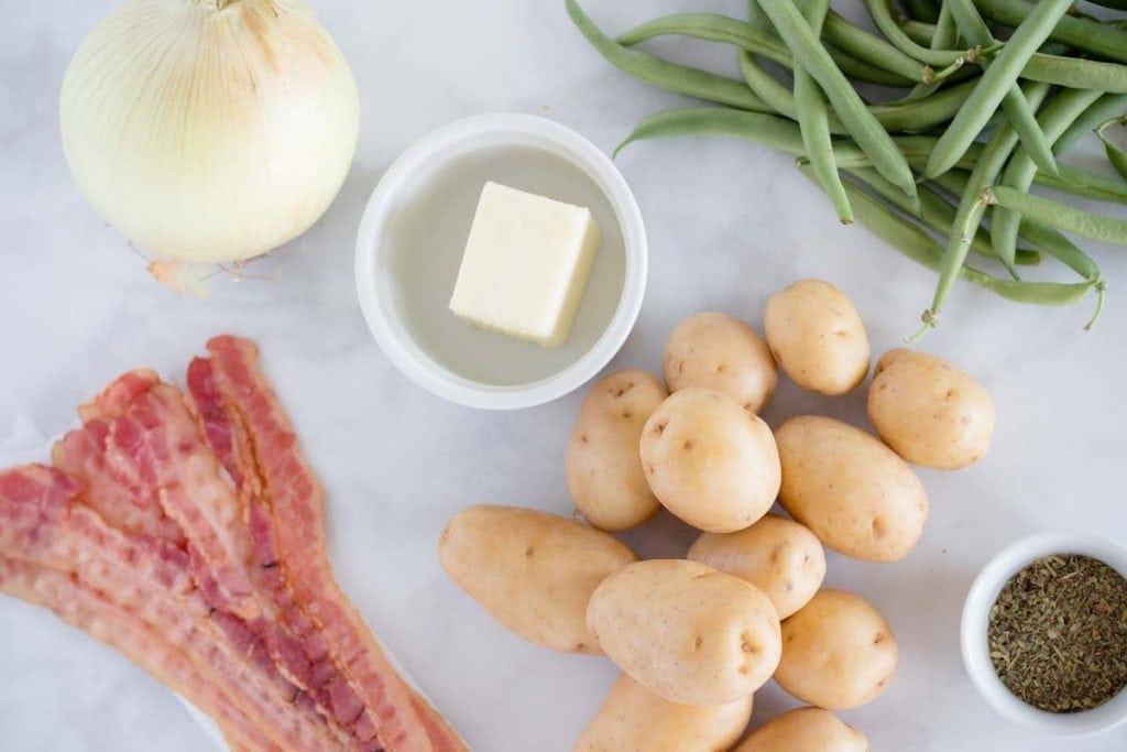 Green Beans and Potatoes Ingredients