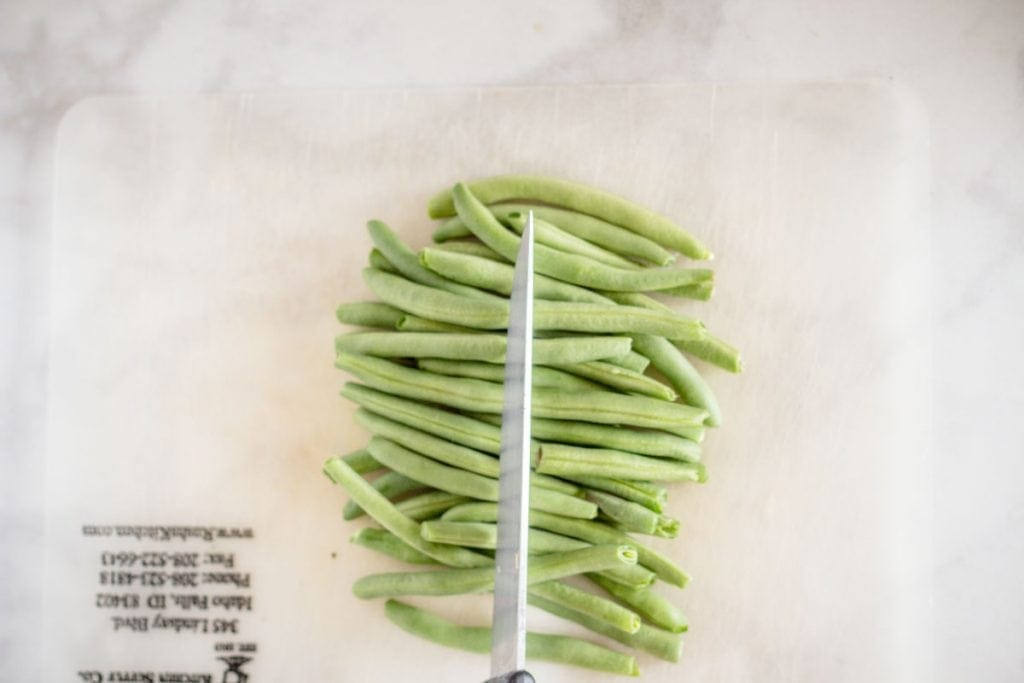 Fresh Green Beans Sliced