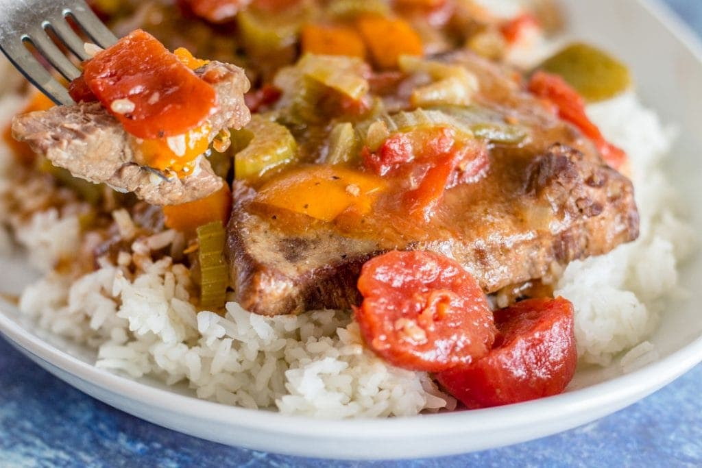 Pressure Cooker Swiss Steak Recipe