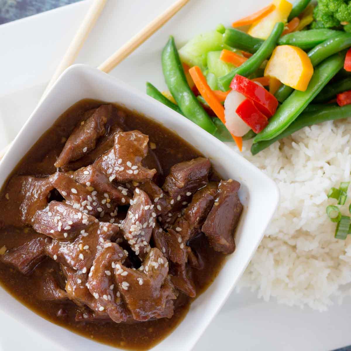 30 Minute Beef Teriyaki Recipe