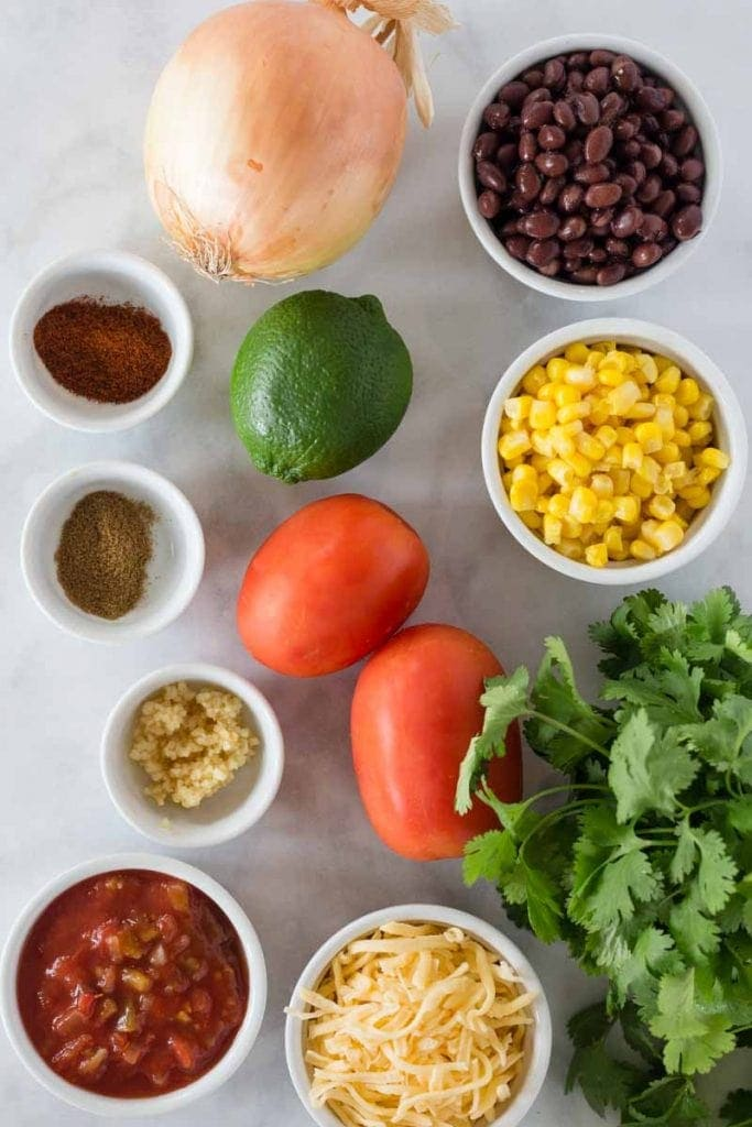 Black Bean Salsa Recipe Ingredients