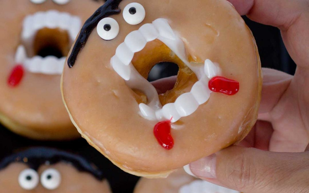 How to make Vampire Donuts