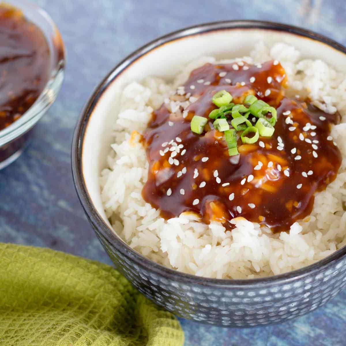 Easy Japanese Rice Bowl
