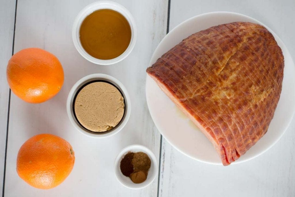 Honey Glazed Ham Recipe Ingredients