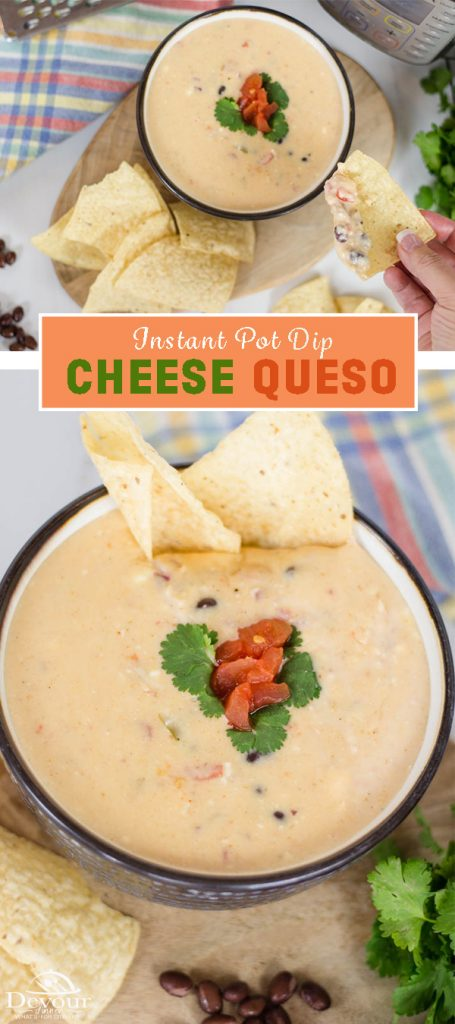 Queso Cheese Dip Pinterest pin