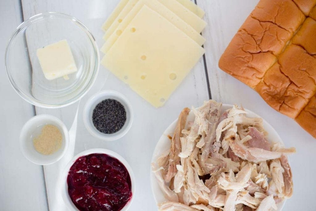 Turkey Slider Ingredient