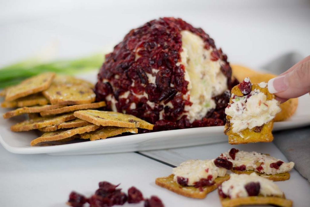 White Cheddar Cheese Ball