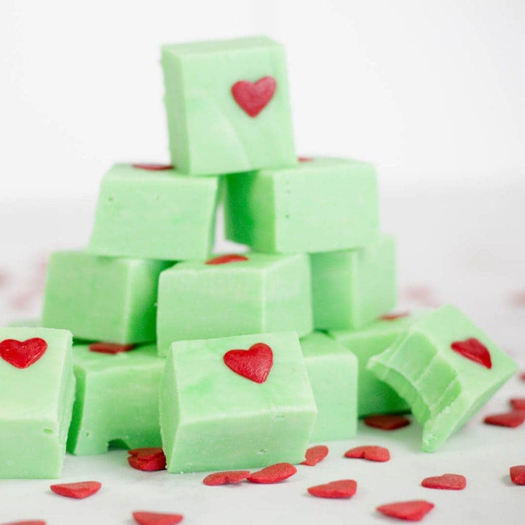 Grinch Fudge