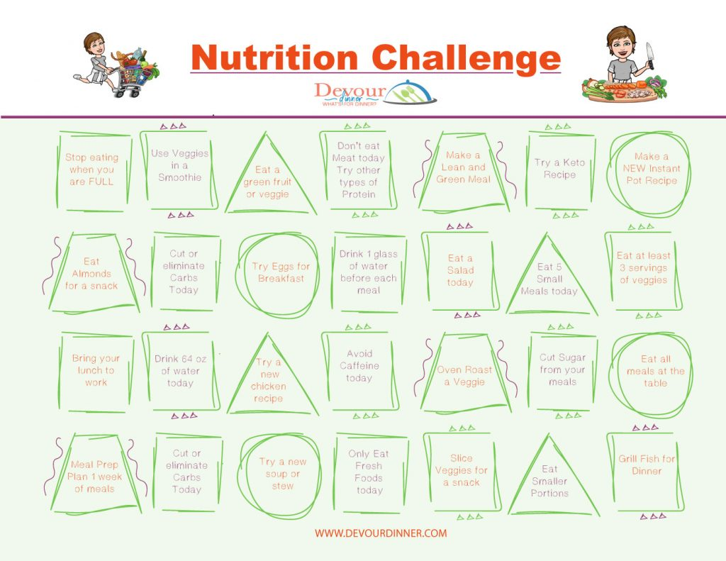 Healthy Eating Nutritional Challenge