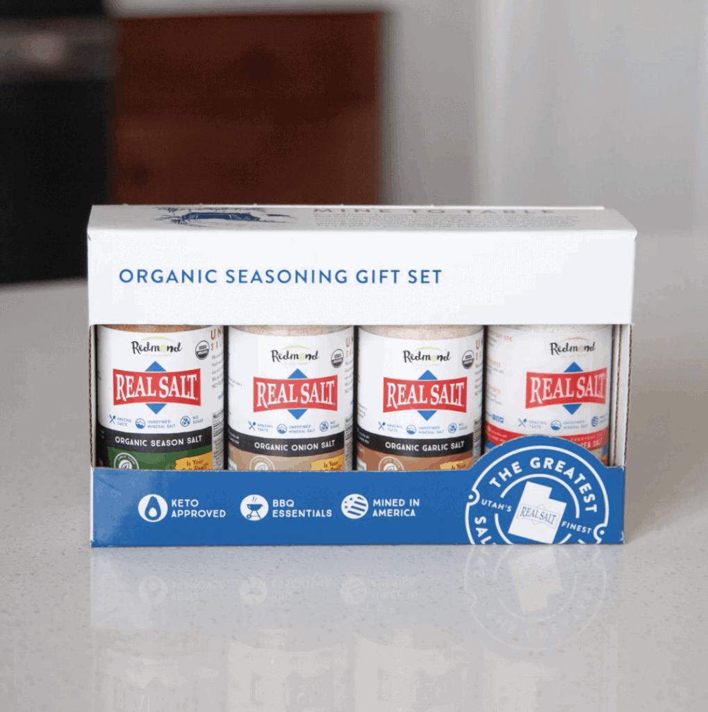 Redmond Real Salt Organic Seasoning Set