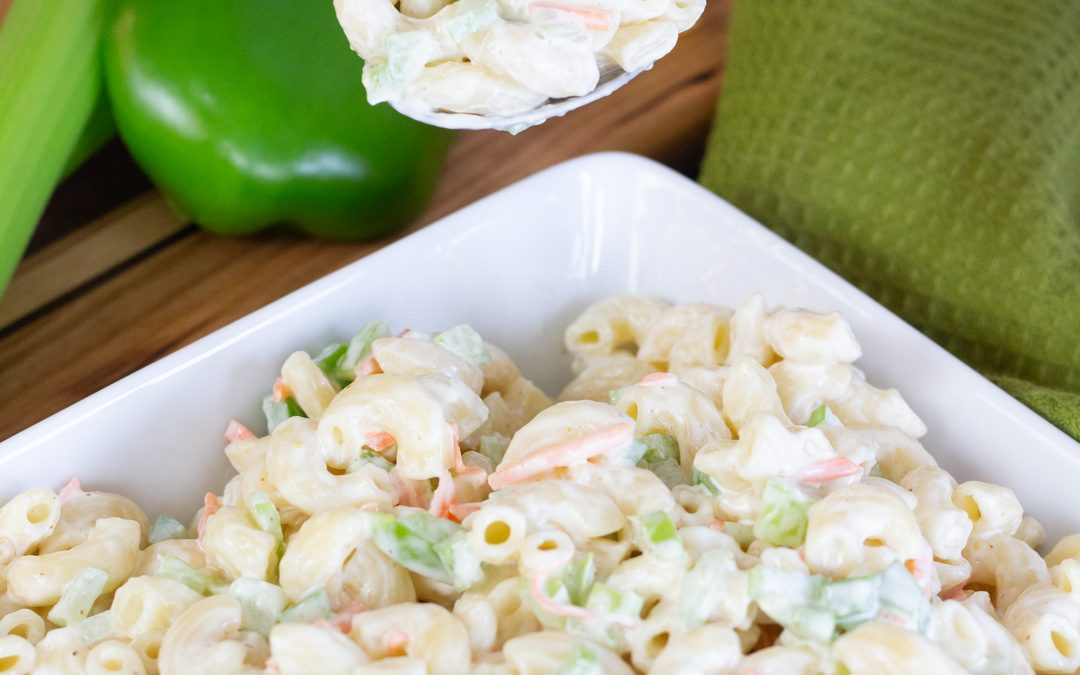 The BEST Deli Macaroni Salad