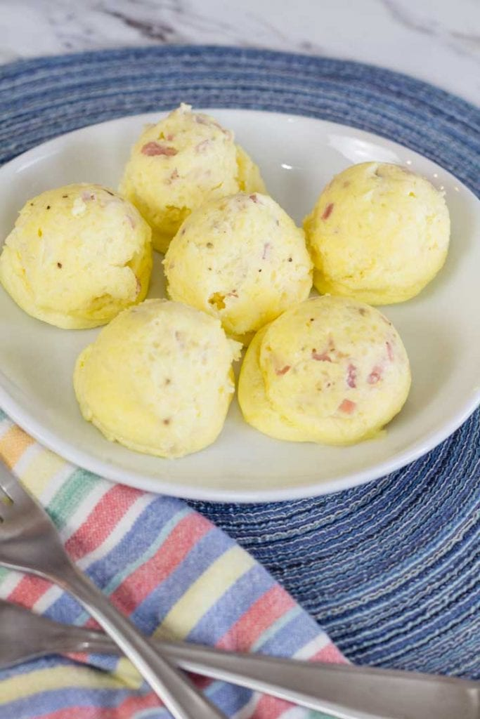 Ham and Cheese Egg Bites