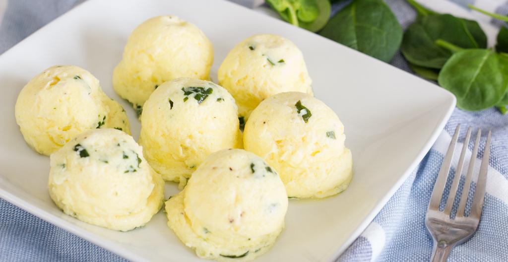 Instant Pot Spinach and Feta Egg Bites