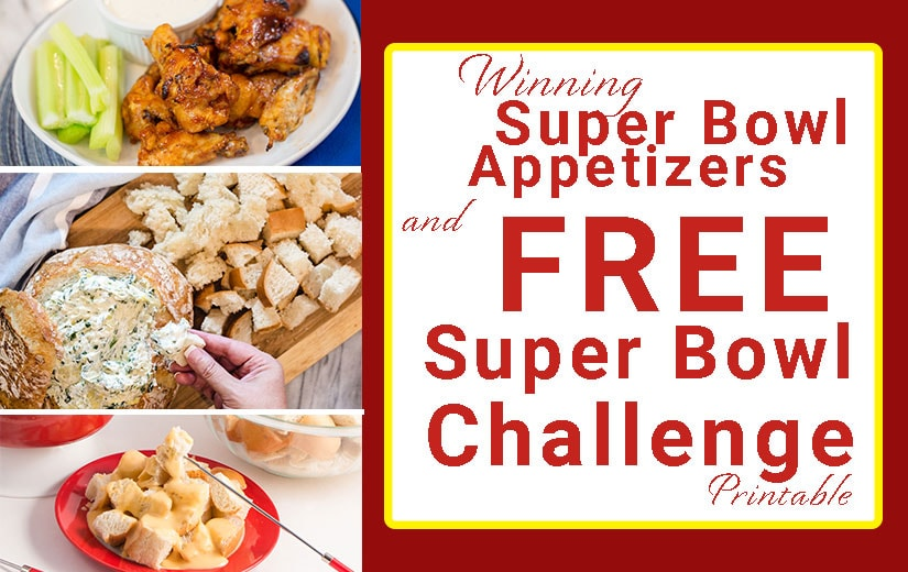 Super Bowl Winning Recipes
