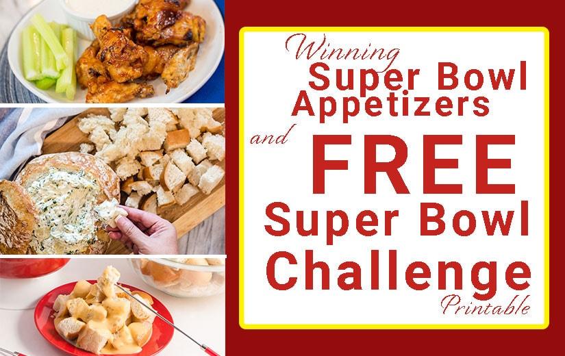 Super Bowl Winning Recipes
