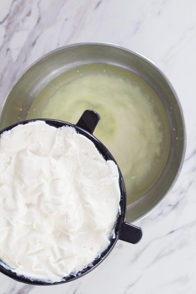 Straining Yogurt Whey
