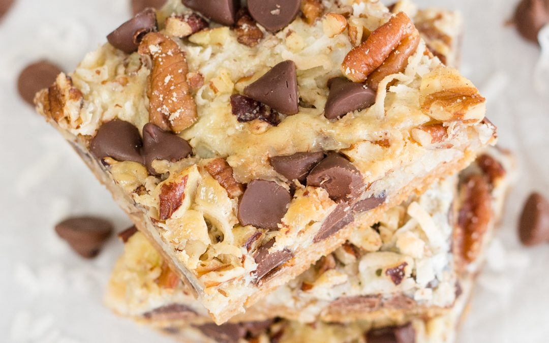 How to make Magic Cookie Bars!