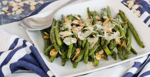 Delicious Oven Roasted Fresh Green Beans