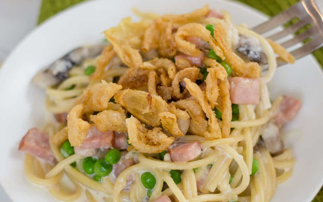 How to make Instant Pot Ham Tetrazzini