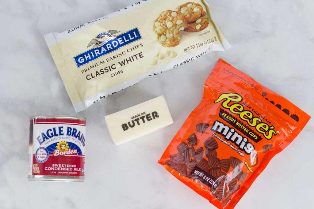 3 Ingredient Peanut Butter Fudge